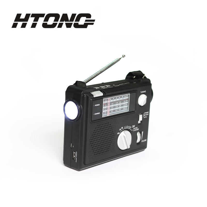 best emergency crank radio flashlight for indoor Hai Tong-3