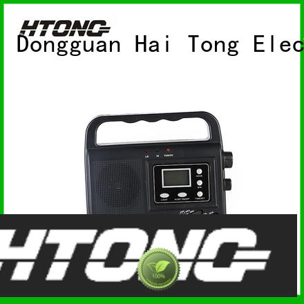 Hai Tong professional solar emergency radio easy to use for outdoor