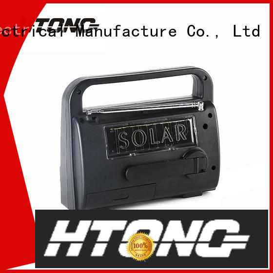 Hai Tong ht666 solar powered emergency radio from China for house