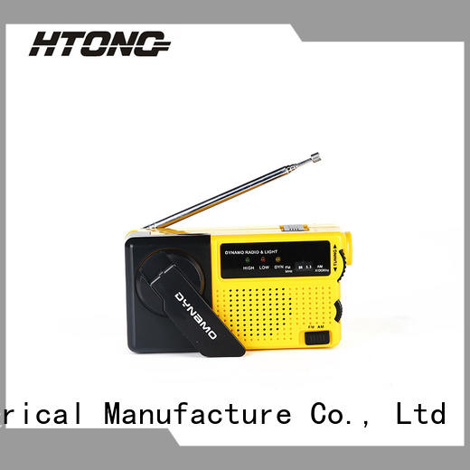 HTong charging best crank radio online for home