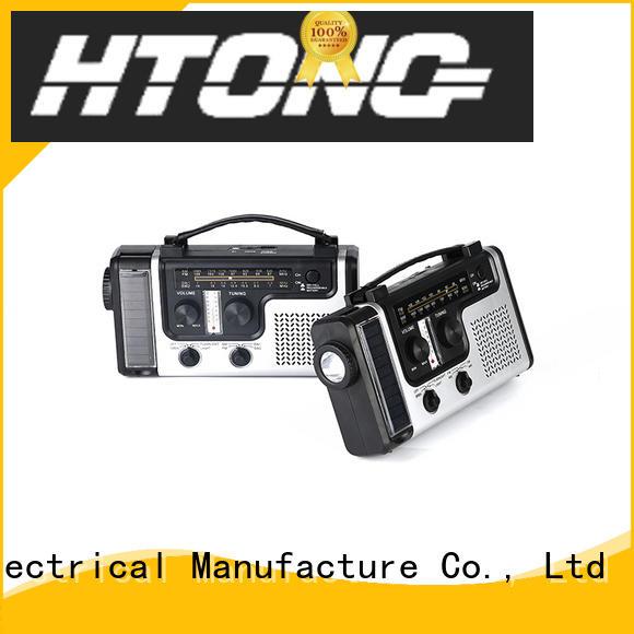 Hai Tong led dynamo radio from China for home