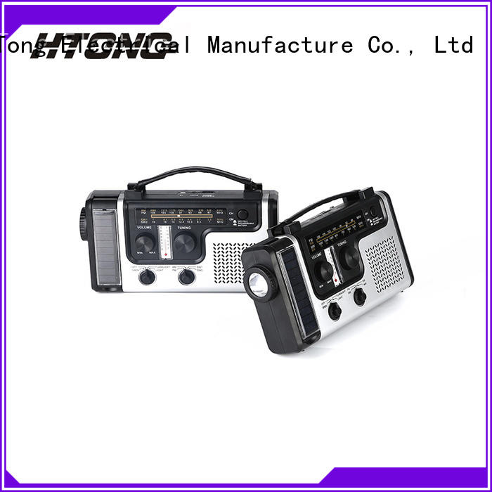 HTong band emergency radio factory price for hotel