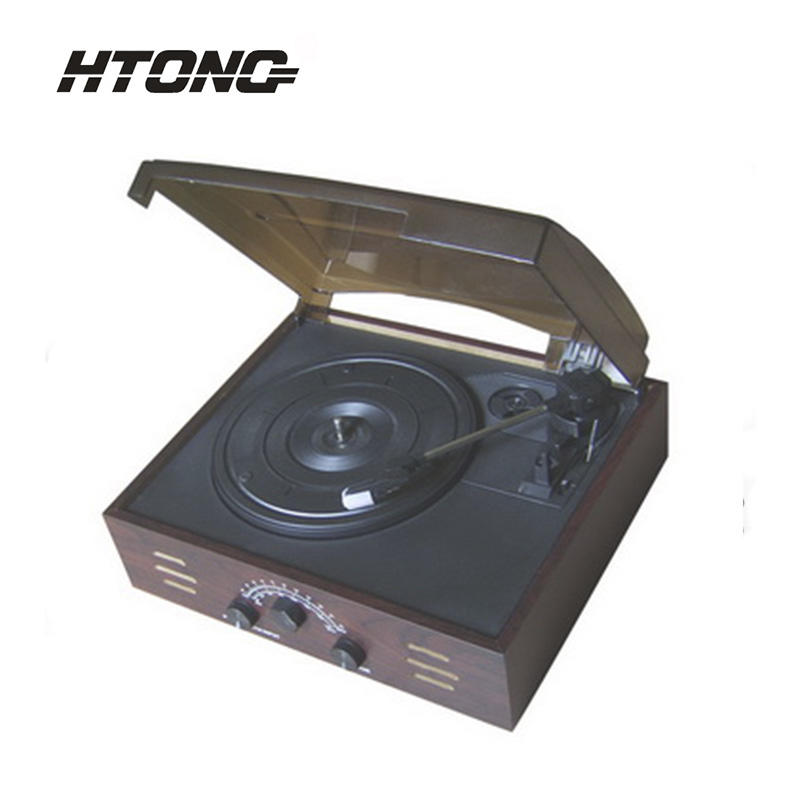 USB MP3 SDcard High Quality Antique Wooden Gramophone HT-1978
