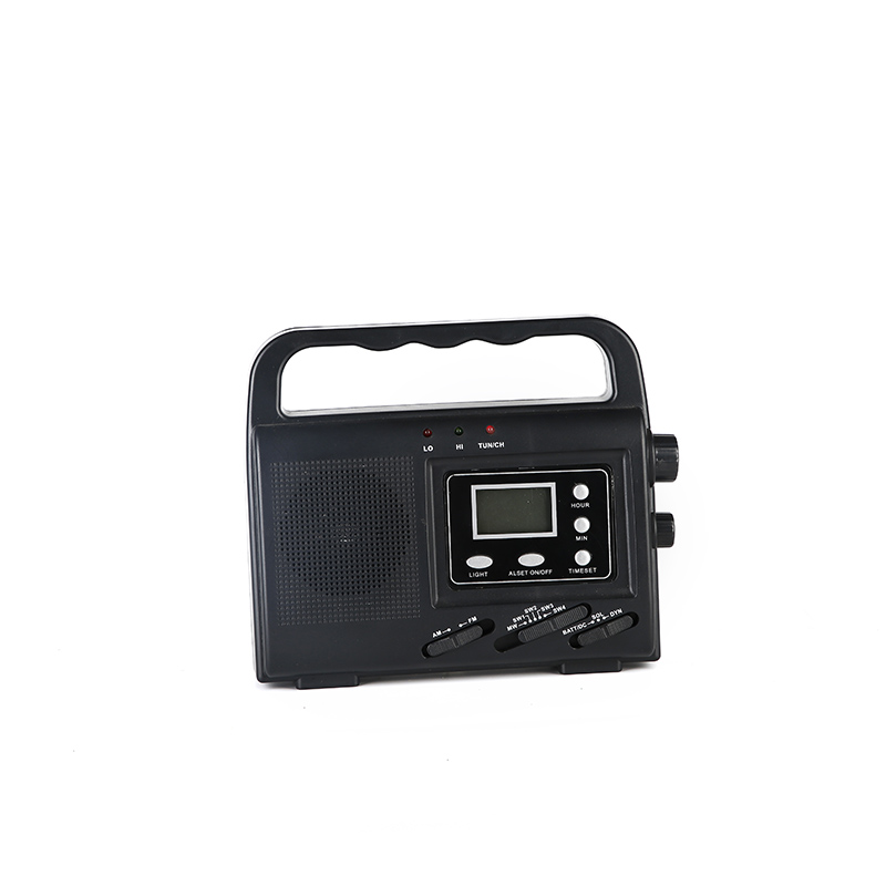 HTong sw solar emergency radio easy to use for outdoor-1