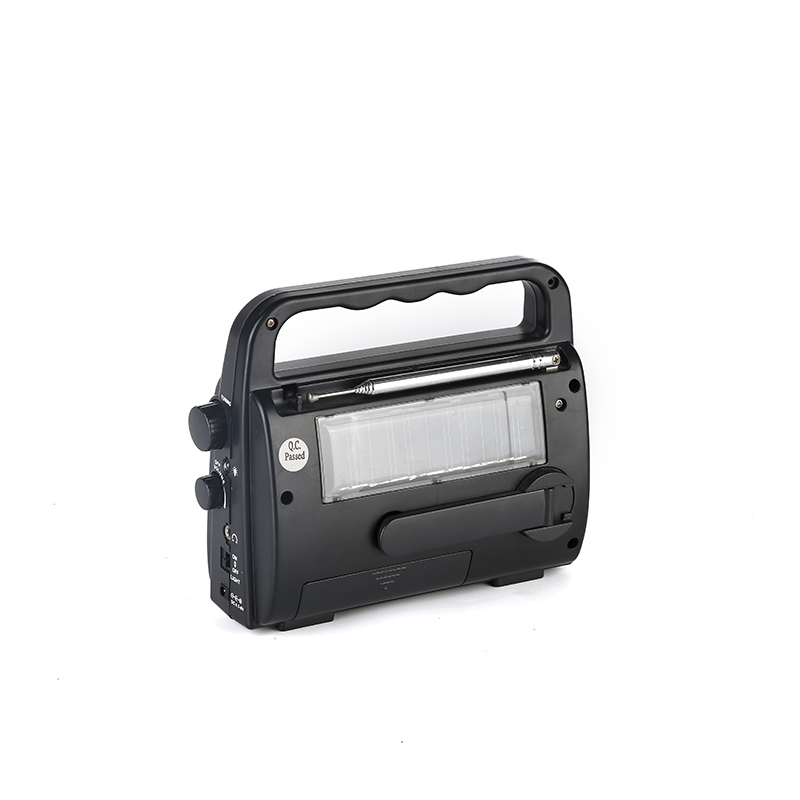 HTong sw solar emergency radio easy to use for outdoor-2