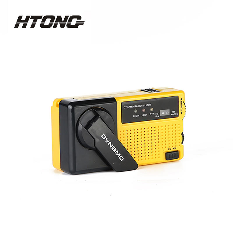 FM AM Function Hand-Cranked Charging Radio HT-920