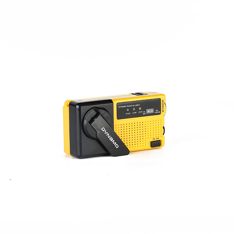 customized crank flashlight radio ht3068 online for home-3
