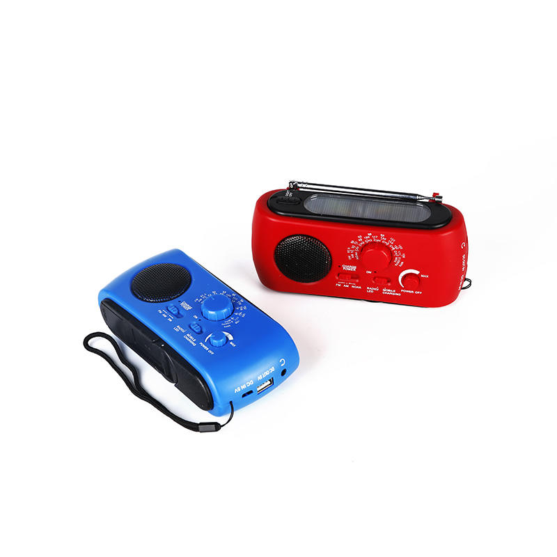 Hai Tong good quality dynamo radio from China for hotel