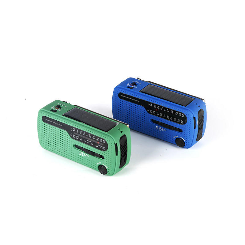 portable solar crank radio ht777 easy to use for outdoor-1
