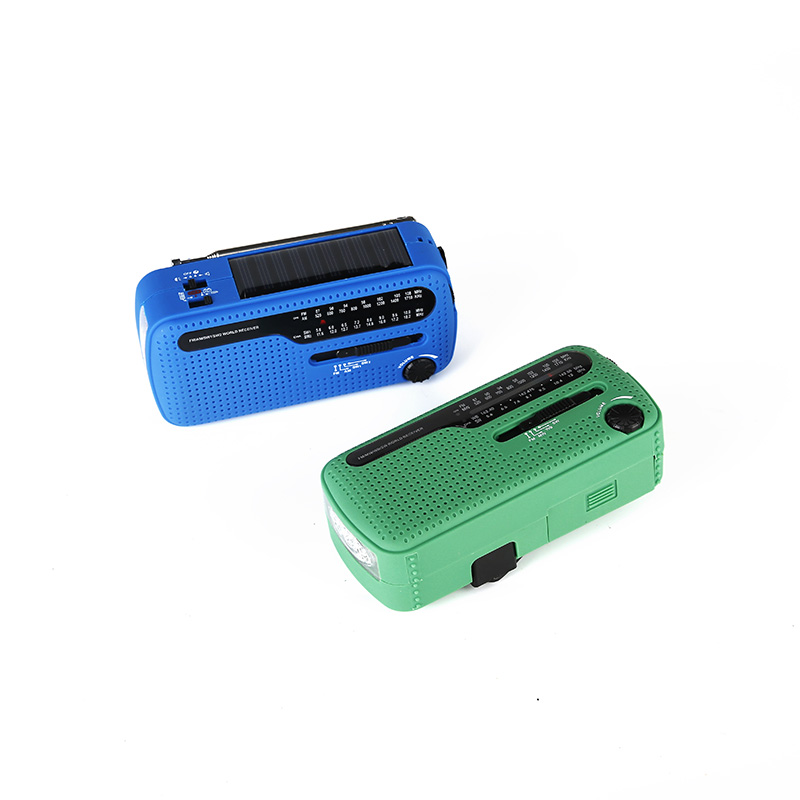 HTong fm solar powered emergency radio from China for house-2
