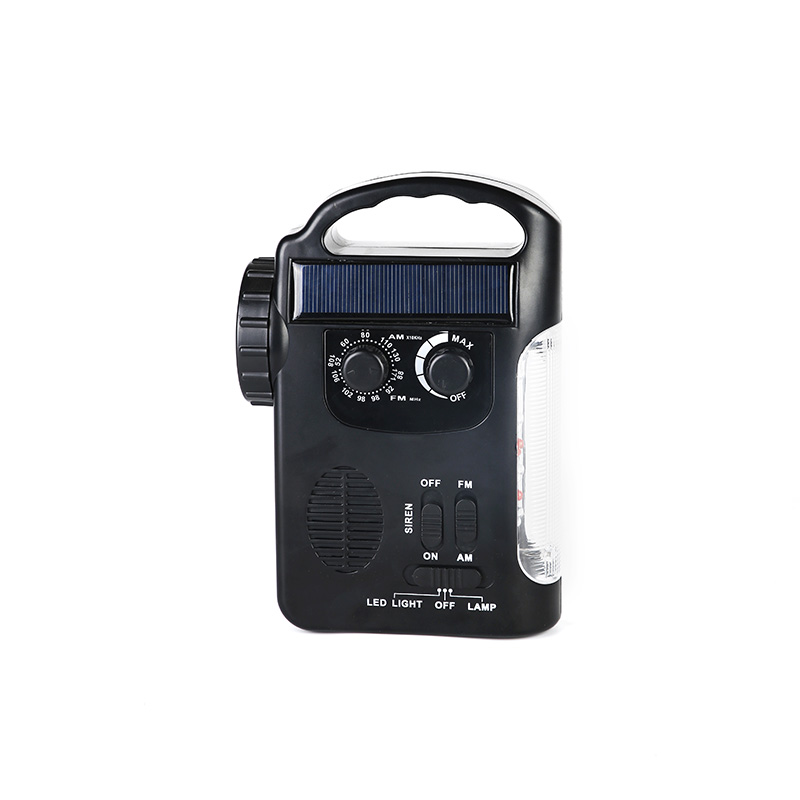 HTong professional solar emergency radio easy to use for house-4