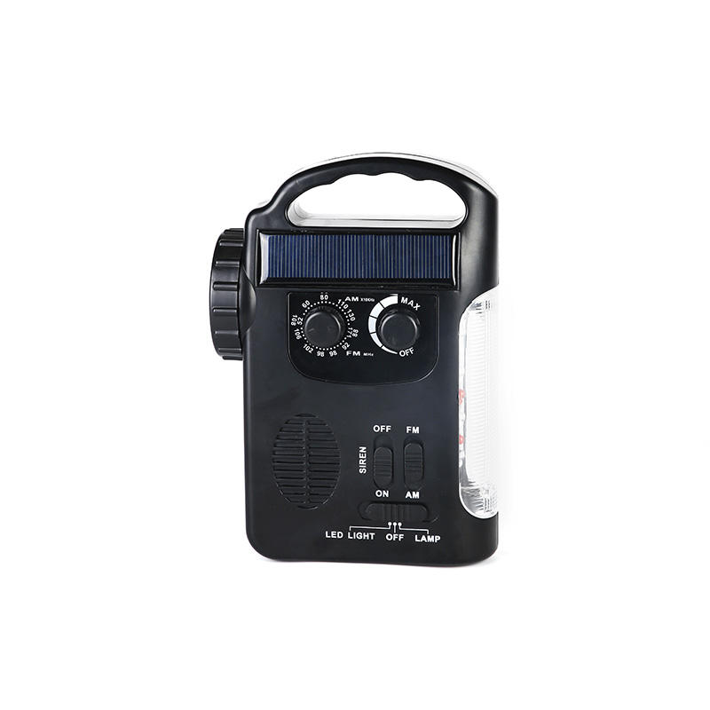 HTong professional solar emergency radio easy to use for house