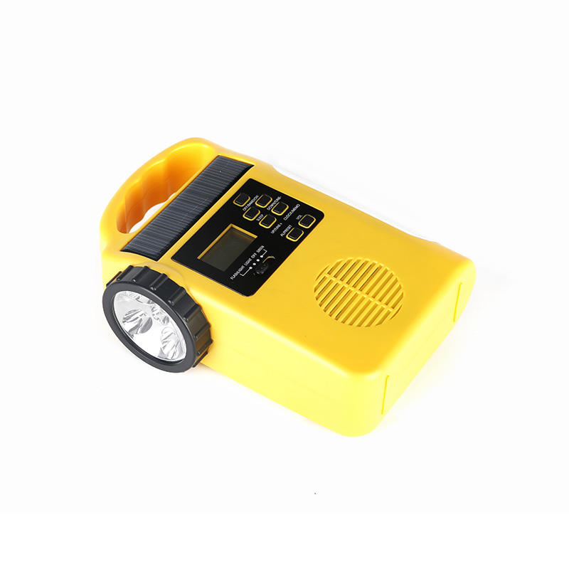 HTong good quality solar crank radio on sale for outdoor