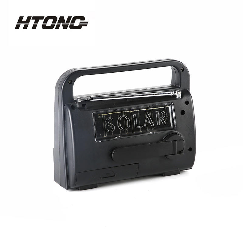 Emergency Crank Am Fm Sw Solar Dynamo Radio HT-777