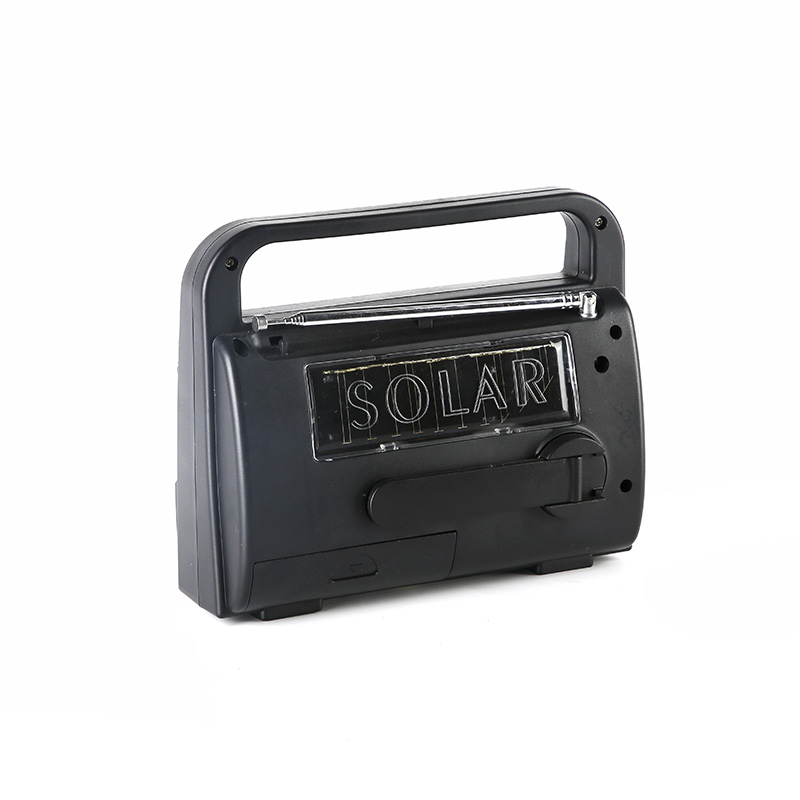 HTong vintage solar powered emergency radio on sale for home-3