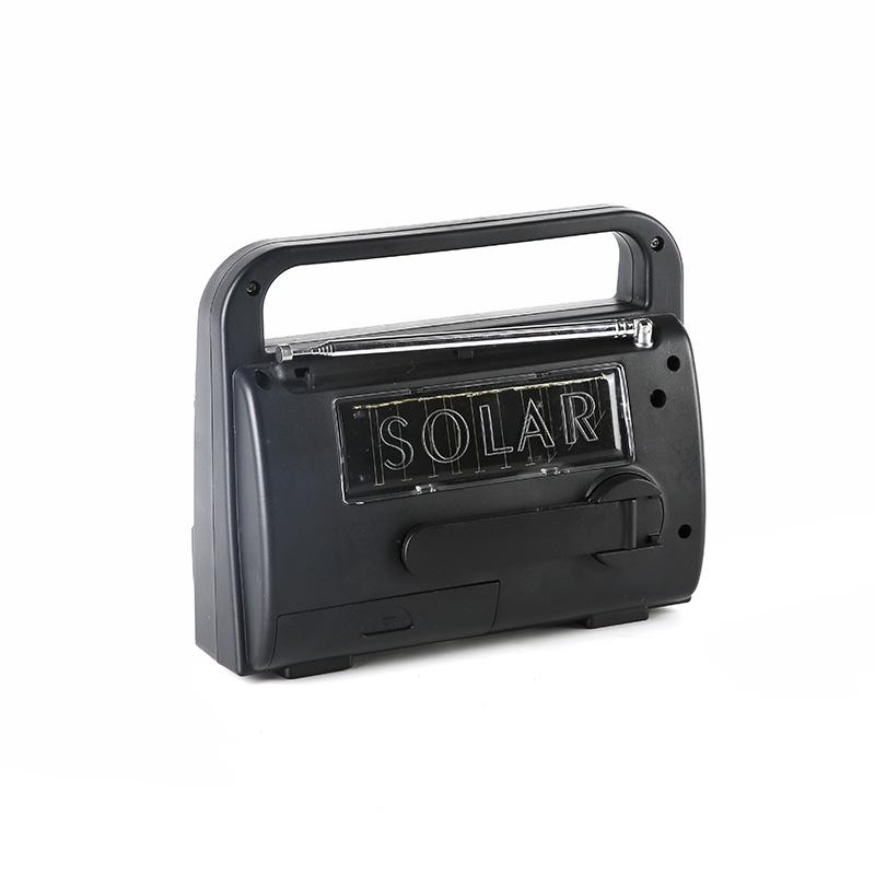 professional solar powered emergency radio flashlight promotion for outdoor-3