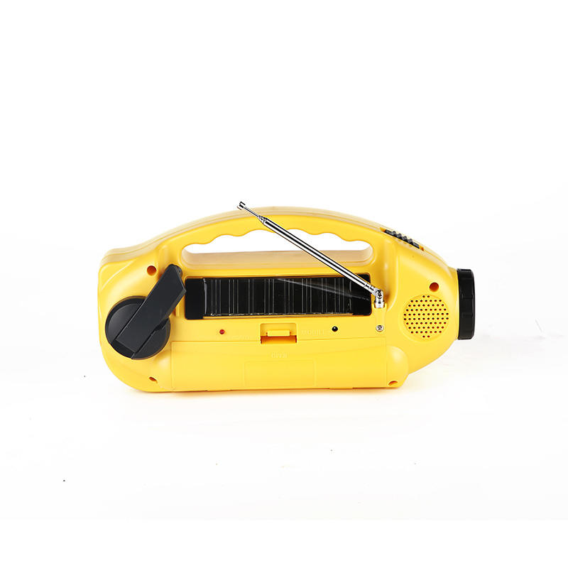 portable solar emergency radio crank from China for home