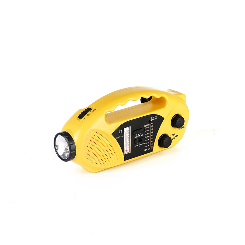 portable solar emergency radio crank from China for home-4
