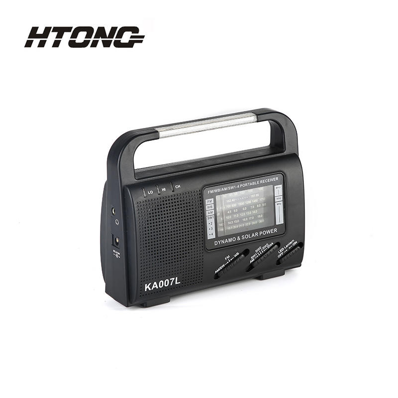 All Frequency Band Outdoor  Reicever Solar Dynamo Radio HT-999