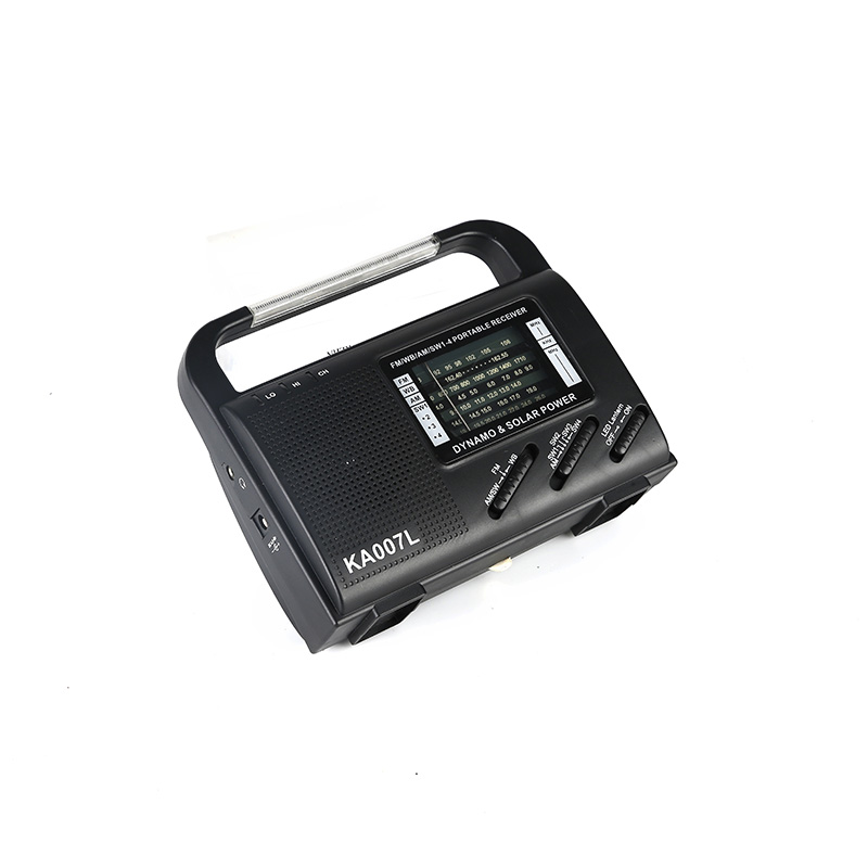 portable solar emergency radio bright easy to use for outdoor-1