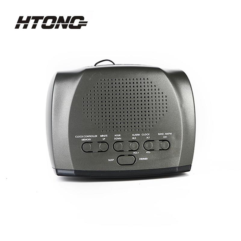 Am Fm Dual Alarm Digital Table Clock Radio HT-001