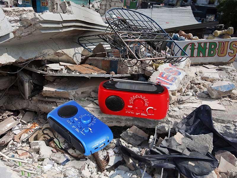 Portable Emergency Radio HT-333