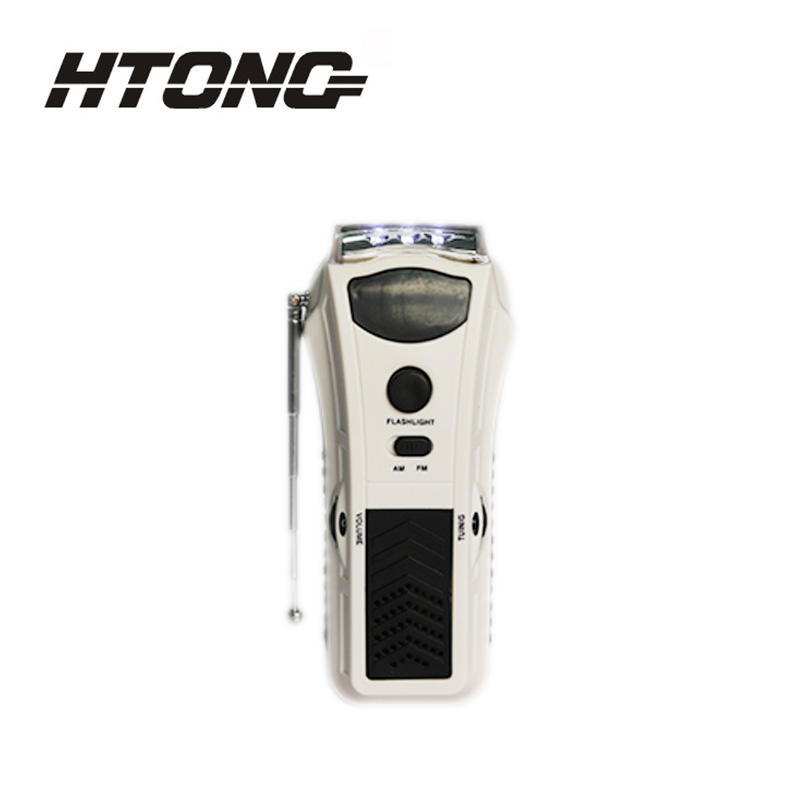 Digital Solar Powered Rechargeable Radio Hand-cranked HT-3038