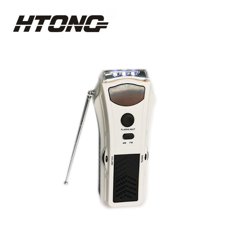 efficient emergency crank radio ht3038 player for home-3