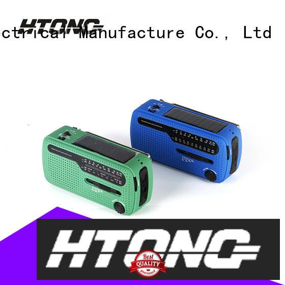 Hai Tong fm dynamo and solar radio on sale for hotel