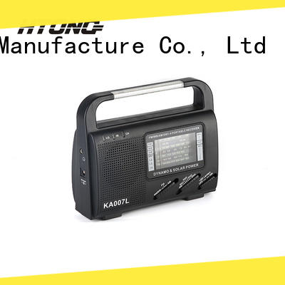 good quality dynamo and solar radio hand on sale for outdoor