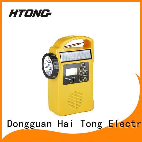 HTong sw solar crank radio on sale for house