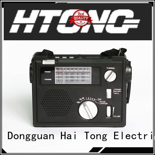 Hai Tong solar crank radio design for indoor