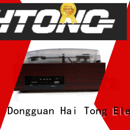 HTong mp3 antique wooden gramophone promotion for home