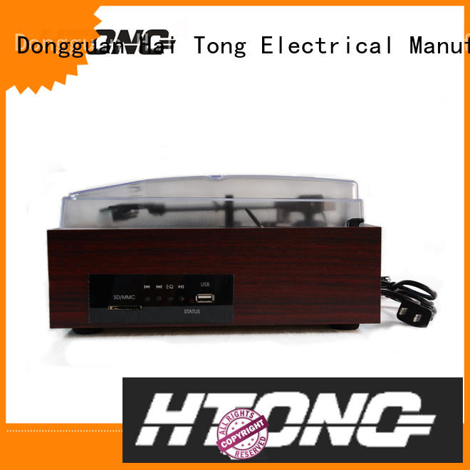 Hai Tong customized antique wooden gramophone supplier for hotel