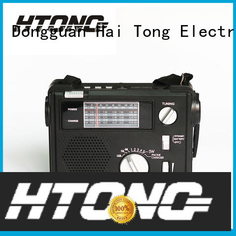 fm emergency crank radio player for family banquet Hai Tong