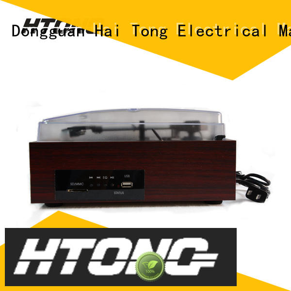 Hai Tong sdcard antique wooden gramophone supplier for indoor