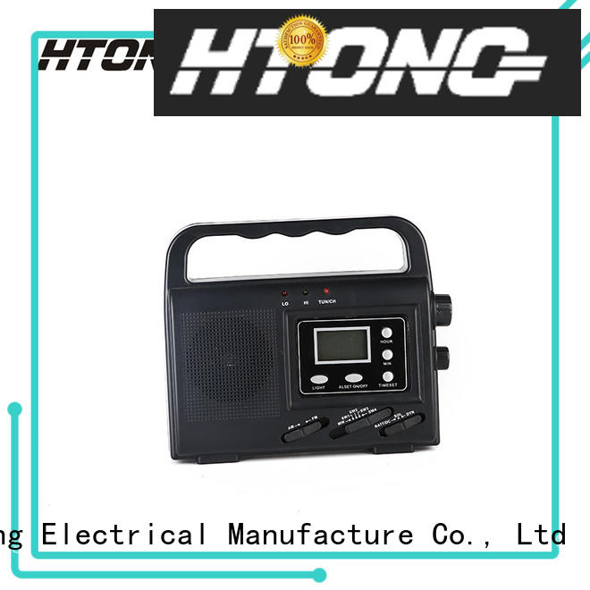 good quality solar digital radio easy to use for home Hai Tong