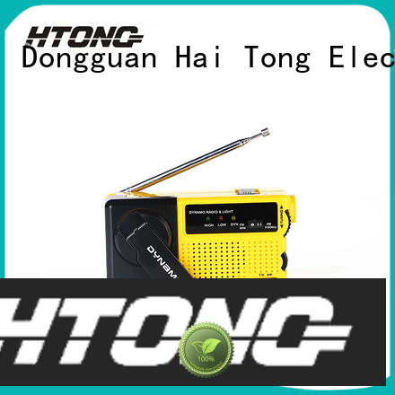 Hai Tong efficient hand crank emergency radio directly price for home