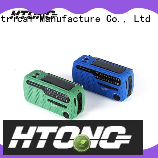 Hai Tong good quality solar powered fm radio on sale for hotel
