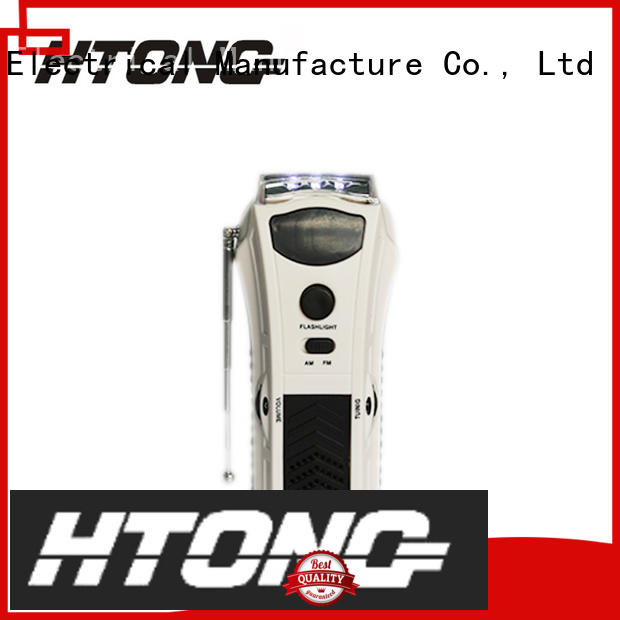 Hai Tong emisoras de crank flashlight radio directly price for hotel