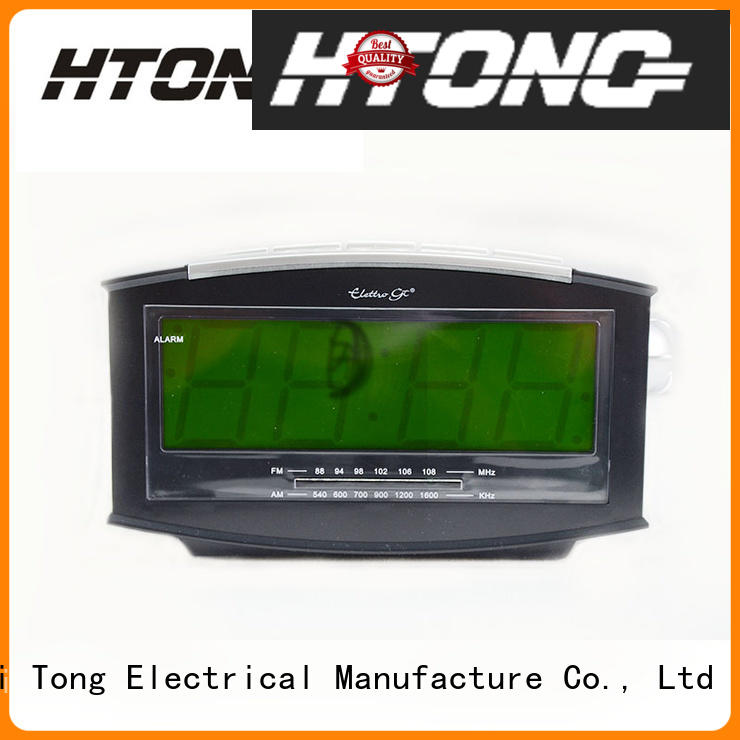 Hai Tong homeuse am fm clock radio directly sale for apartment