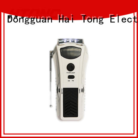 HTong charging best hand crank radio player for family banquet