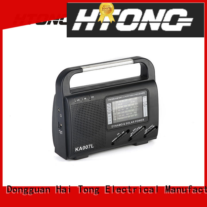 professional solar powered emergency radio band factory price for house