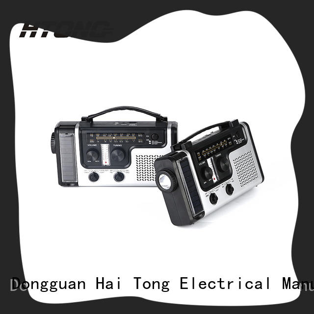 HTong word solar power radio promotion for hotel