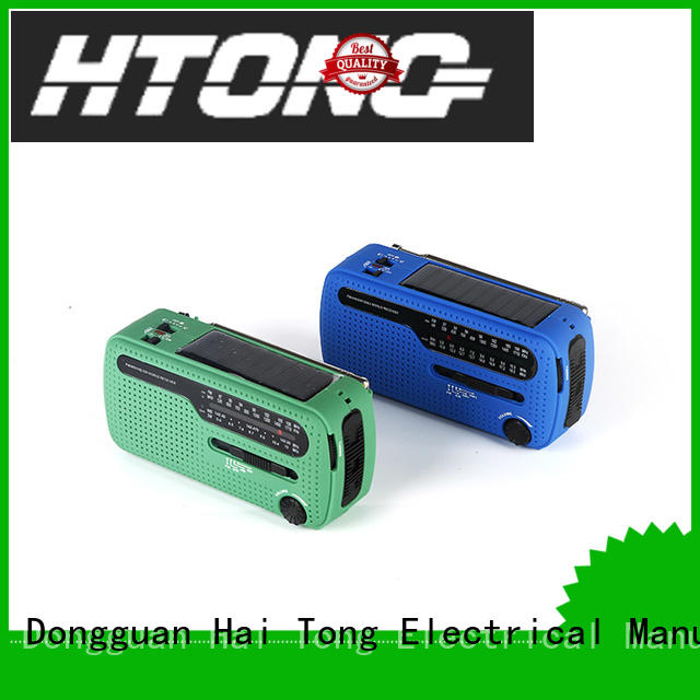 good quality solar crank radio ht998 promotion for outdoor
