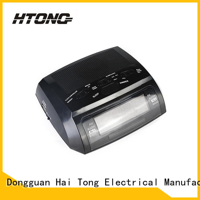 HTong practical am fm clock radio customized for home