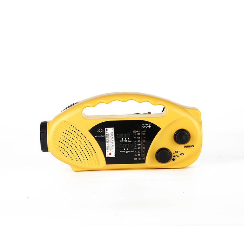 portable solar emergency radio crank from China for home-1