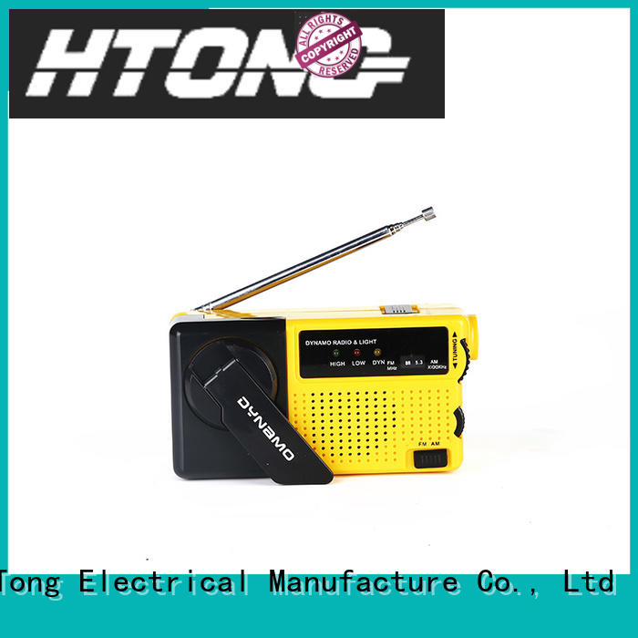 efficient hand crank emergency radio light directly price for family banquet