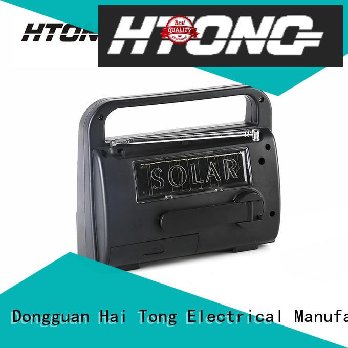 Emergency Crank Am Fm Sw Solar Dynamo Radio HT-777