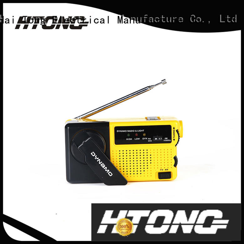 long lasting emergency crank radio light player for indoor